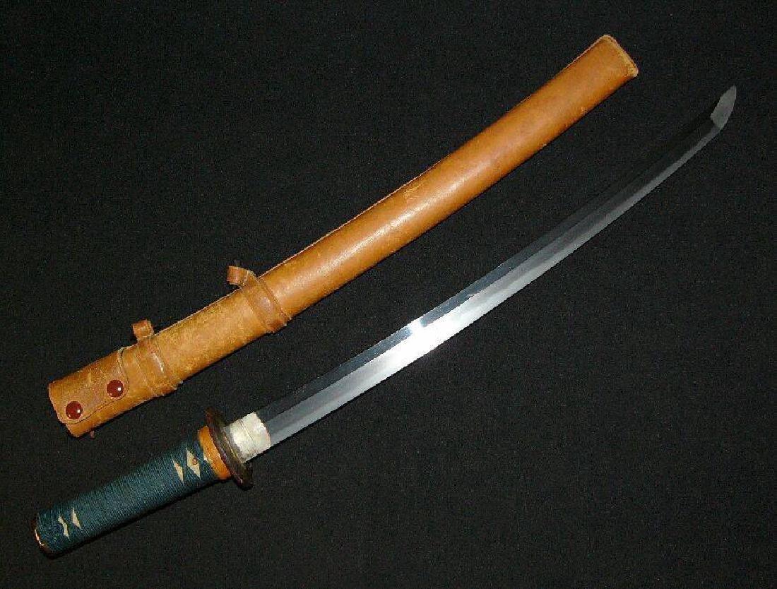 Antique Japanese Sukesada Steel Short Sword, c1500 - 5