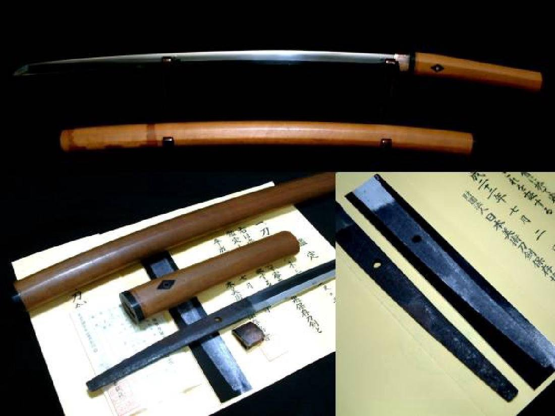 Japanese Kamakura Period Nihonto Katana Sword - 3