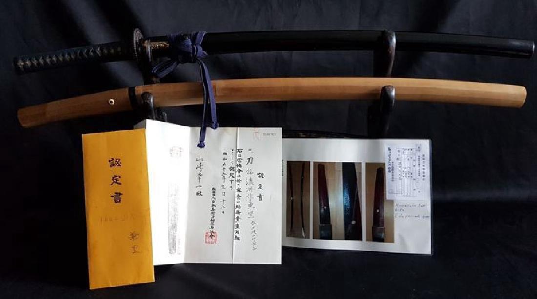 Antique Japanese Kanesato Samurai Sword, 1600