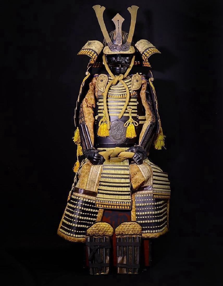 Japanese Showa Period Dragon Samurai Armor Yoroi