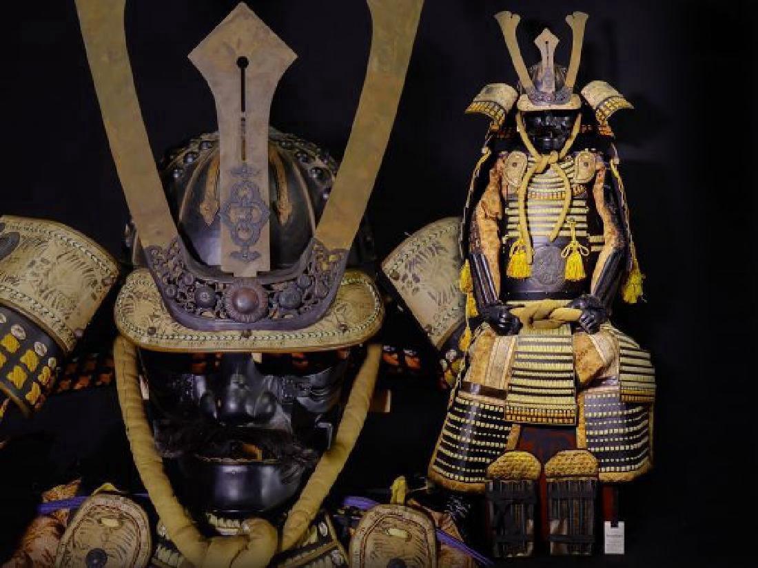 Japanese Showa Period Dragon Samurai Armor Yoroi - 2