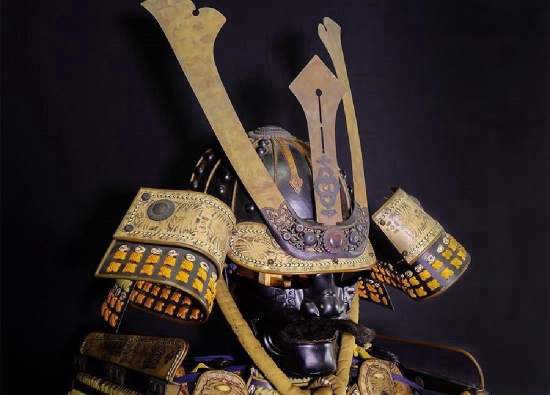 Japanese Showa Period Dragon Samurai Armor Yoroi - 5