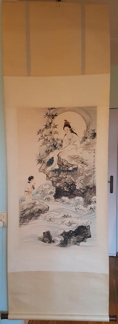 Chinese Scroll Painting on Paper ZHANG DA-QIAN