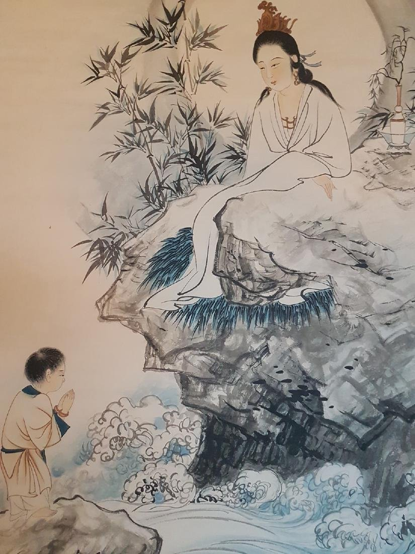 Chinese Scroll Painting on Paper ZHANG DA-QIAN - 6