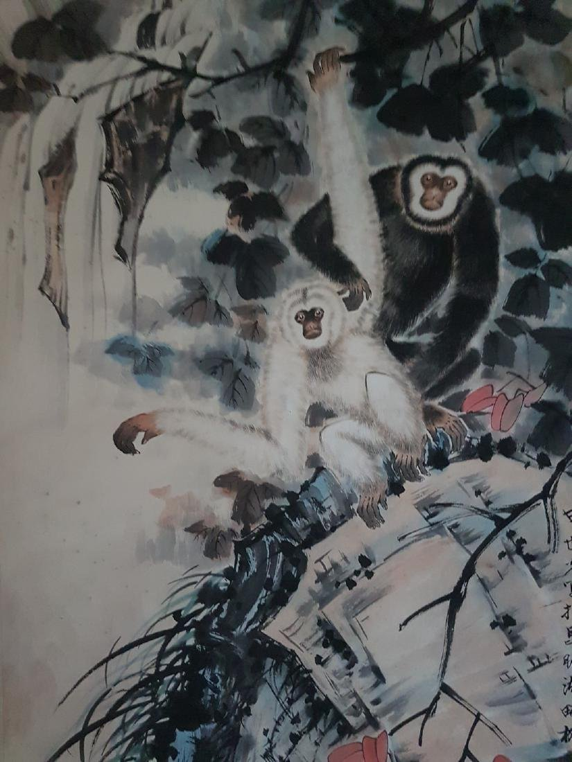 Chinese Scroll Painting on Paper TIAN SHI-GUANG - 10