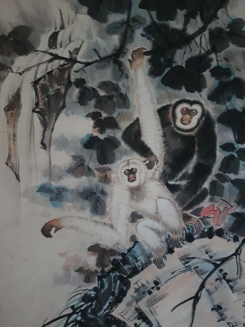 Chinese Scroll Painting on Paper TIAN SHI-GUANG - 7