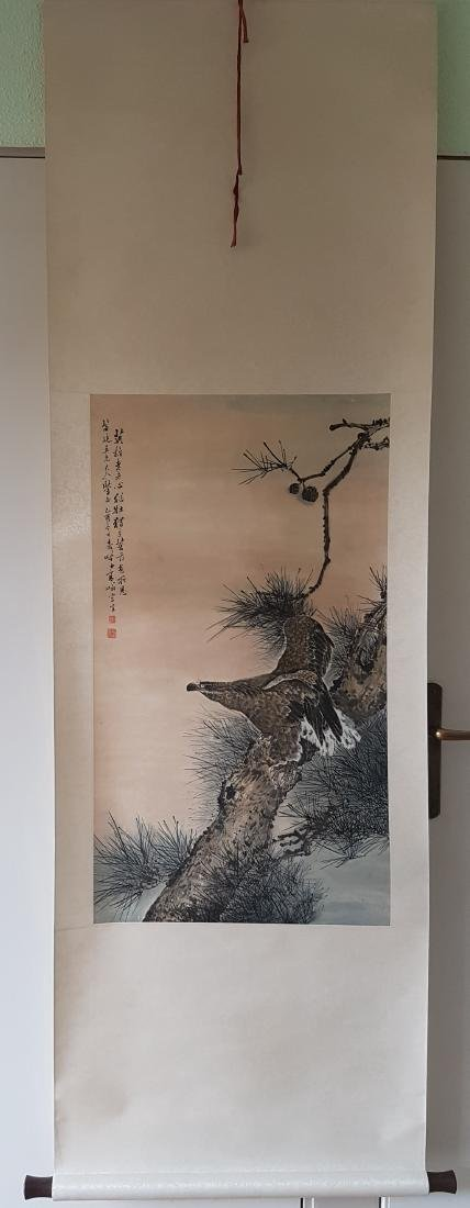 Chinese Scroll Painting, GAO QI-FEN 1889-1933