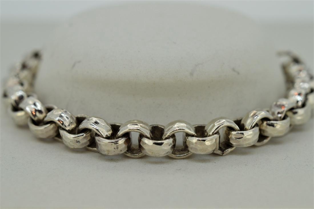 Pure 999 Silver Rolo Bracelet