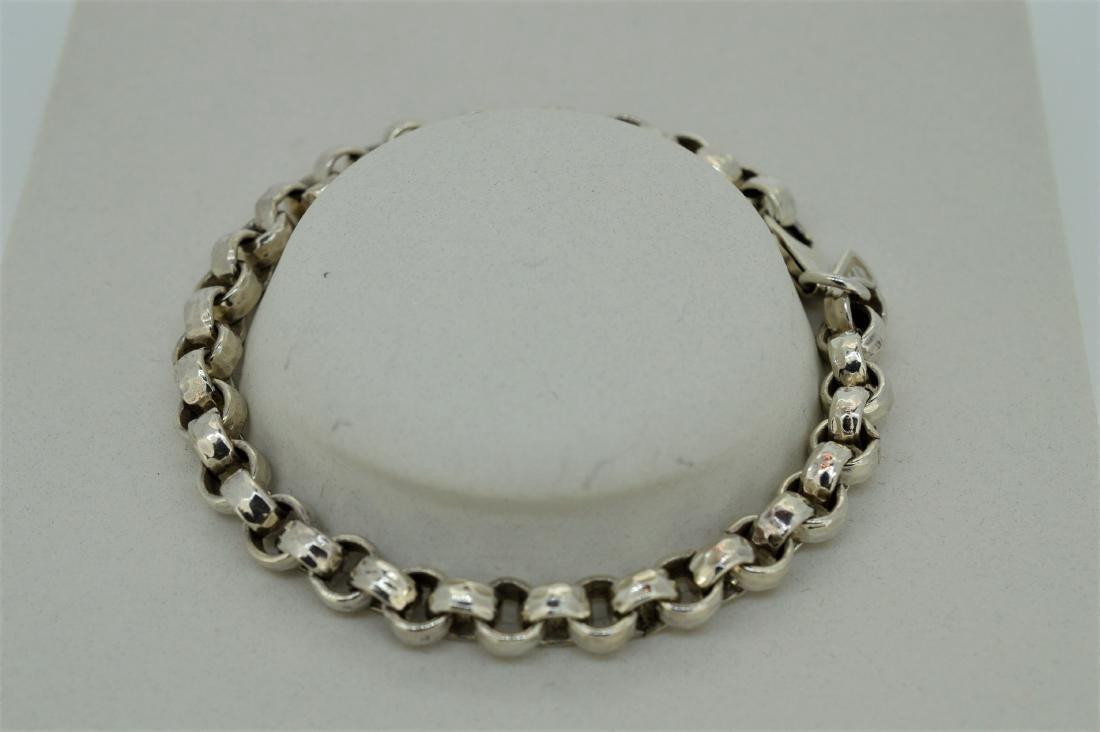 Pure 999 Silver Rolo Bracelet - 2