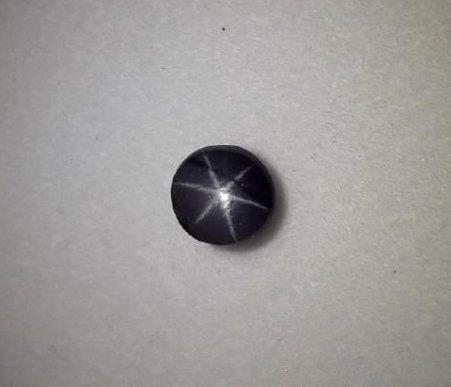 2.64 Carat Loose Purplish Black Star Spinel