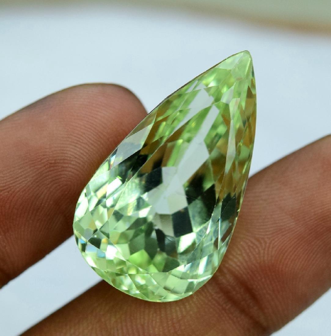 52.65 Carat Loose Green Kunzite - 5