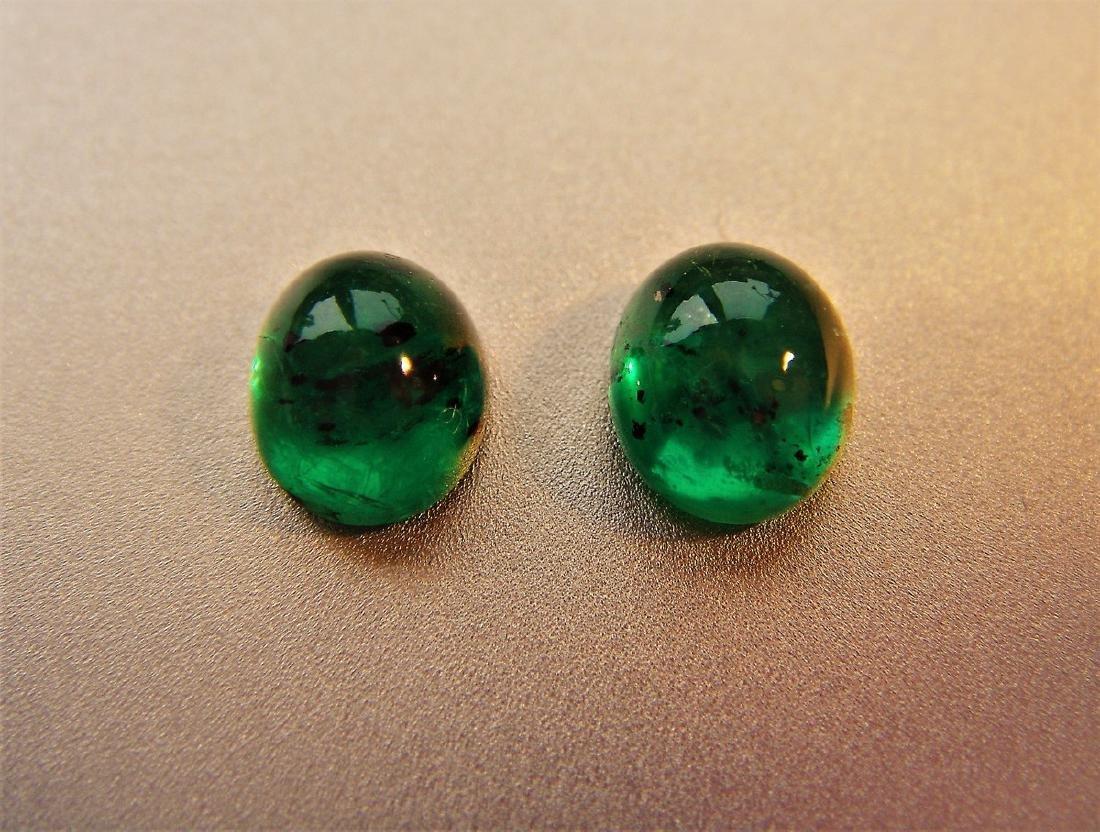 2.50 Carat Loose Emerald Pair - 5