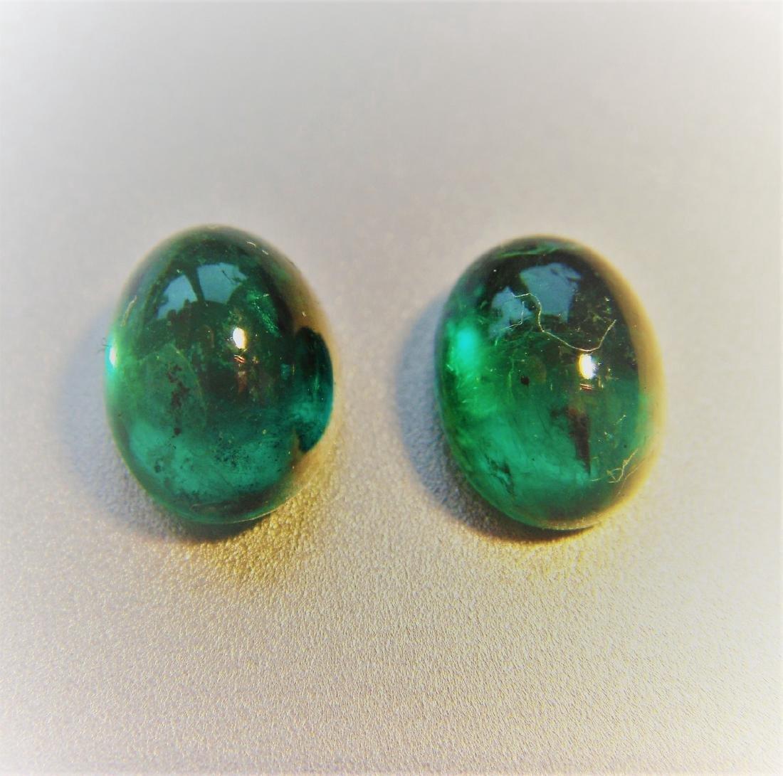 3.15 Carat Loose Emerald Pair