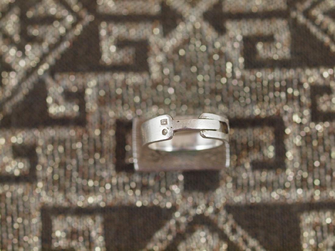 Vintage Silver Carnelian Ring - 4
