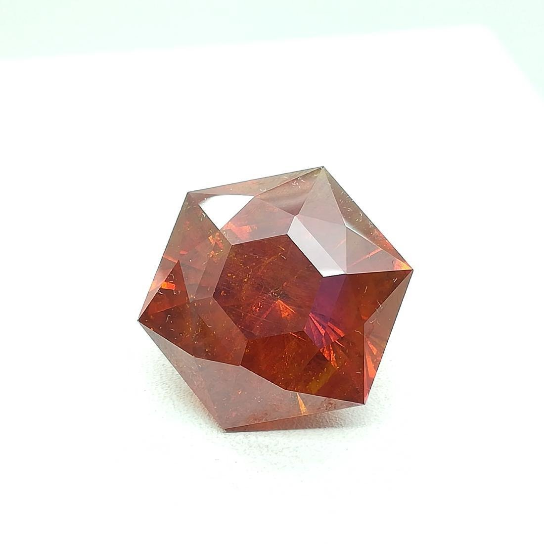 73.60 Carat Loose Sphalerite Fancy Round Cut