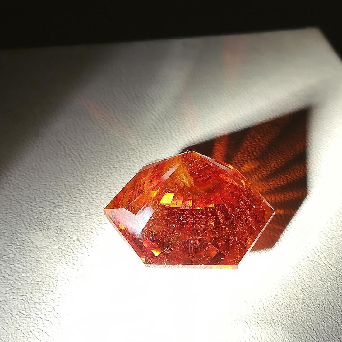 73.60 Carat Loose Sphalerite Fancy Round Cut - 2
