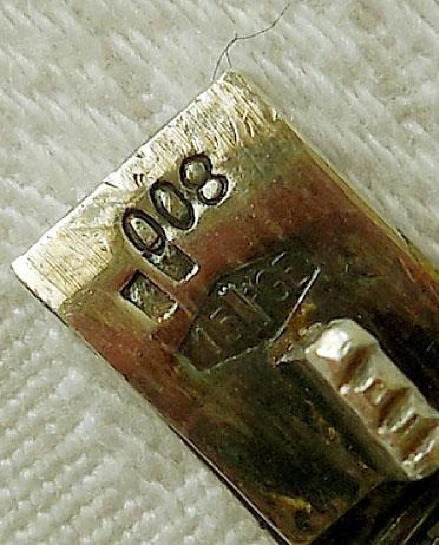 Antique 800 Silver Filigree Bracelet - 8