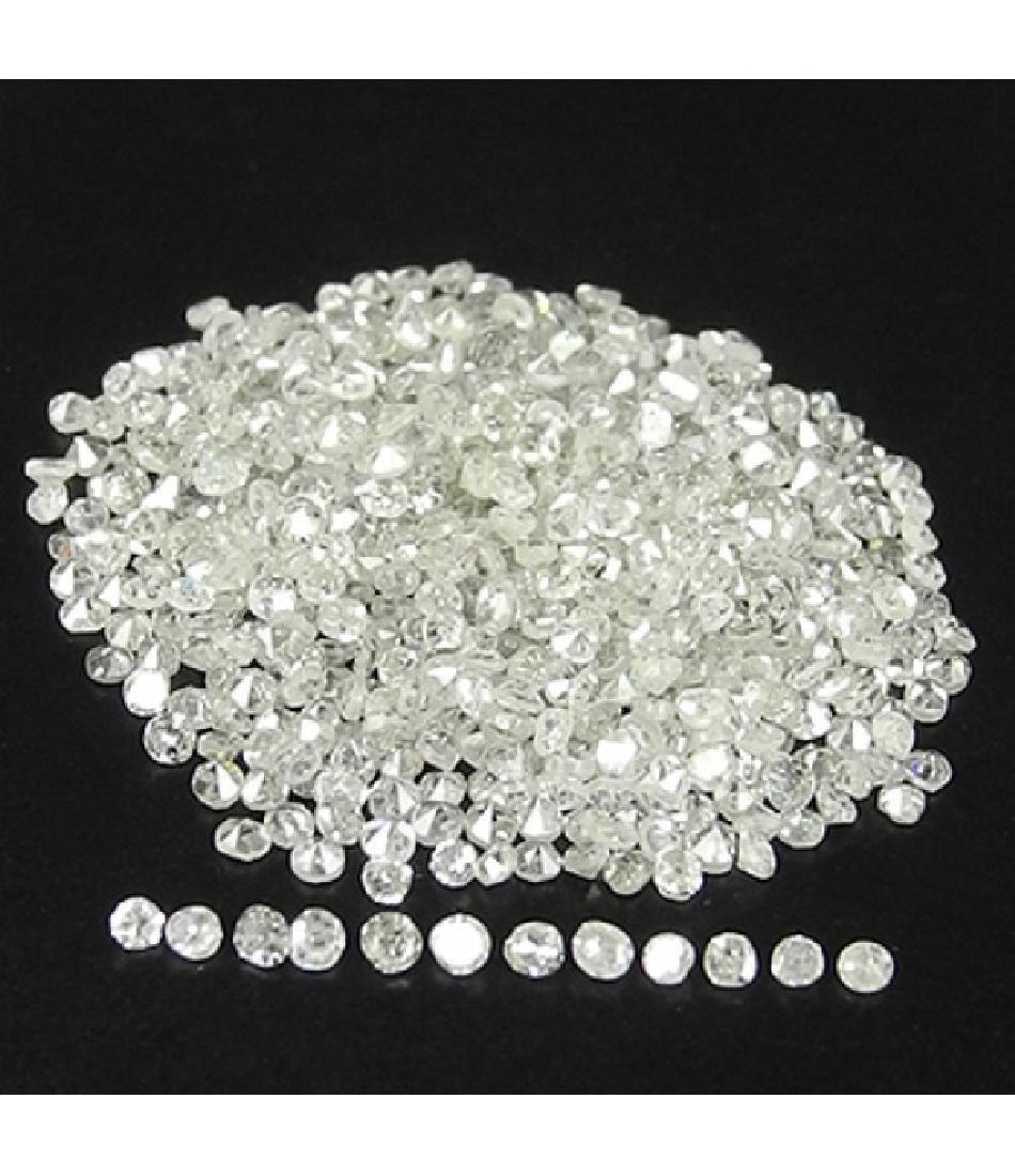 10 Carat 1-1.5mm White Natural Loose Diamonds Lot
