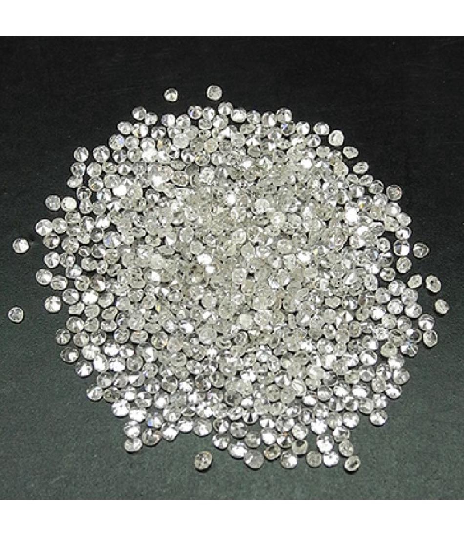 10 Carat 1-1.5mm White Natural Loose Diamonds Lot - 2