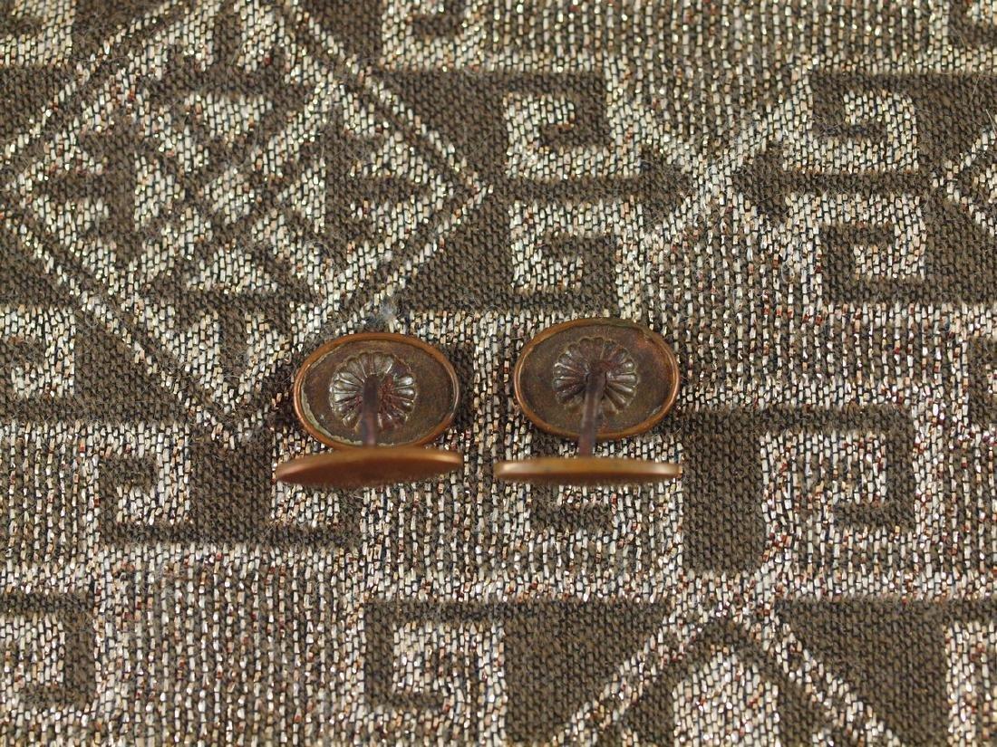 Art Deco Cufflinks - 4