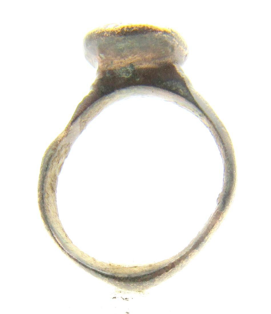 Medieval Religious Fisherman's Net Ring - 3