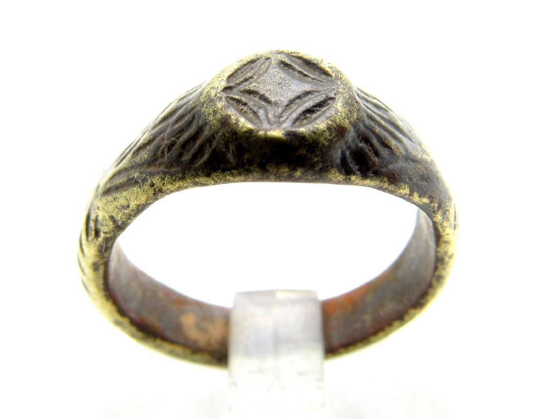Medieval Crusaders Star Of Bethlehem Ring