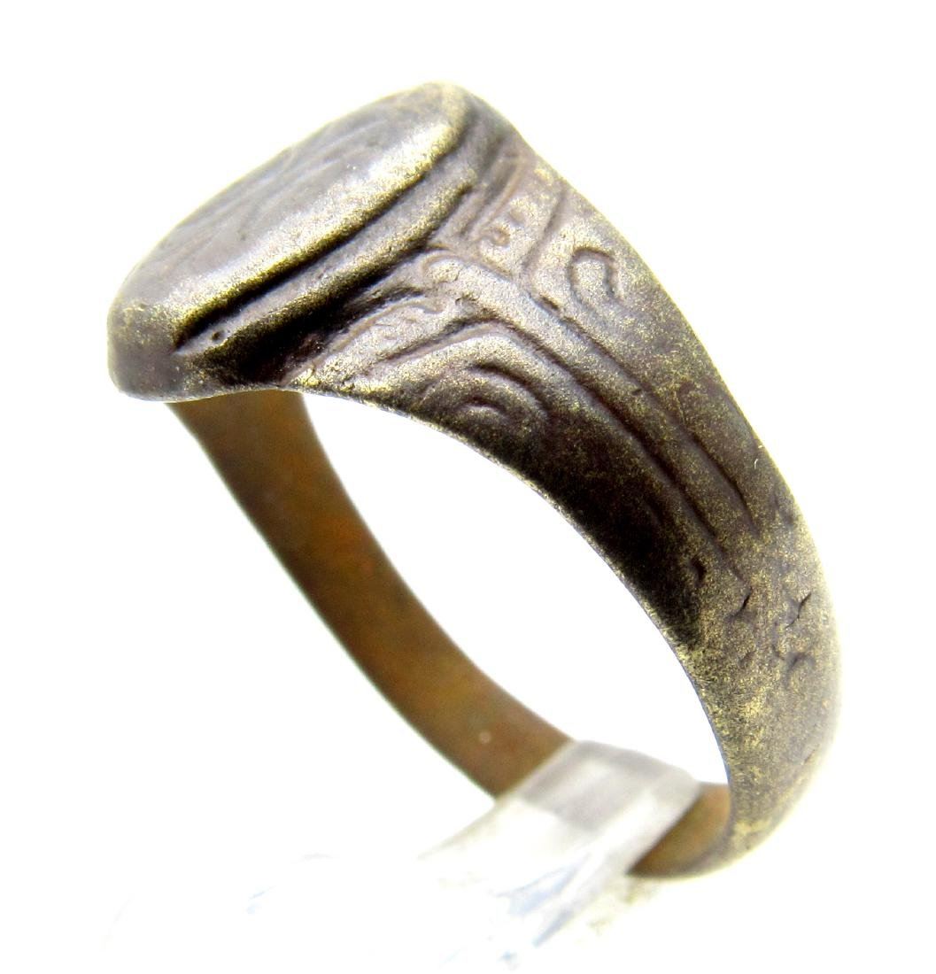 Late Medieval Tudor Floral Wedding Ring - 2
