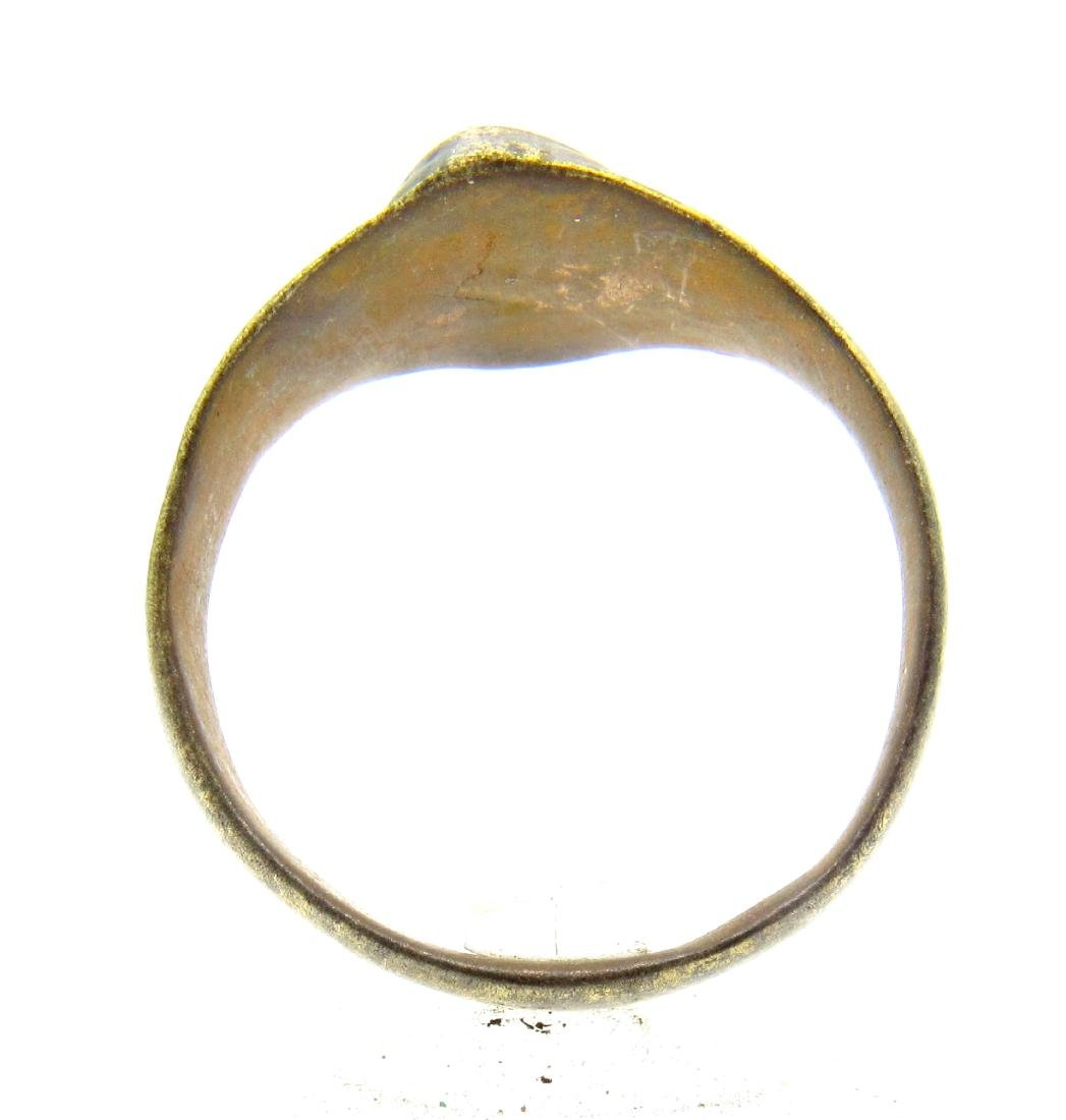 Late Medieval Tudor Floral Wedding Ring - 3