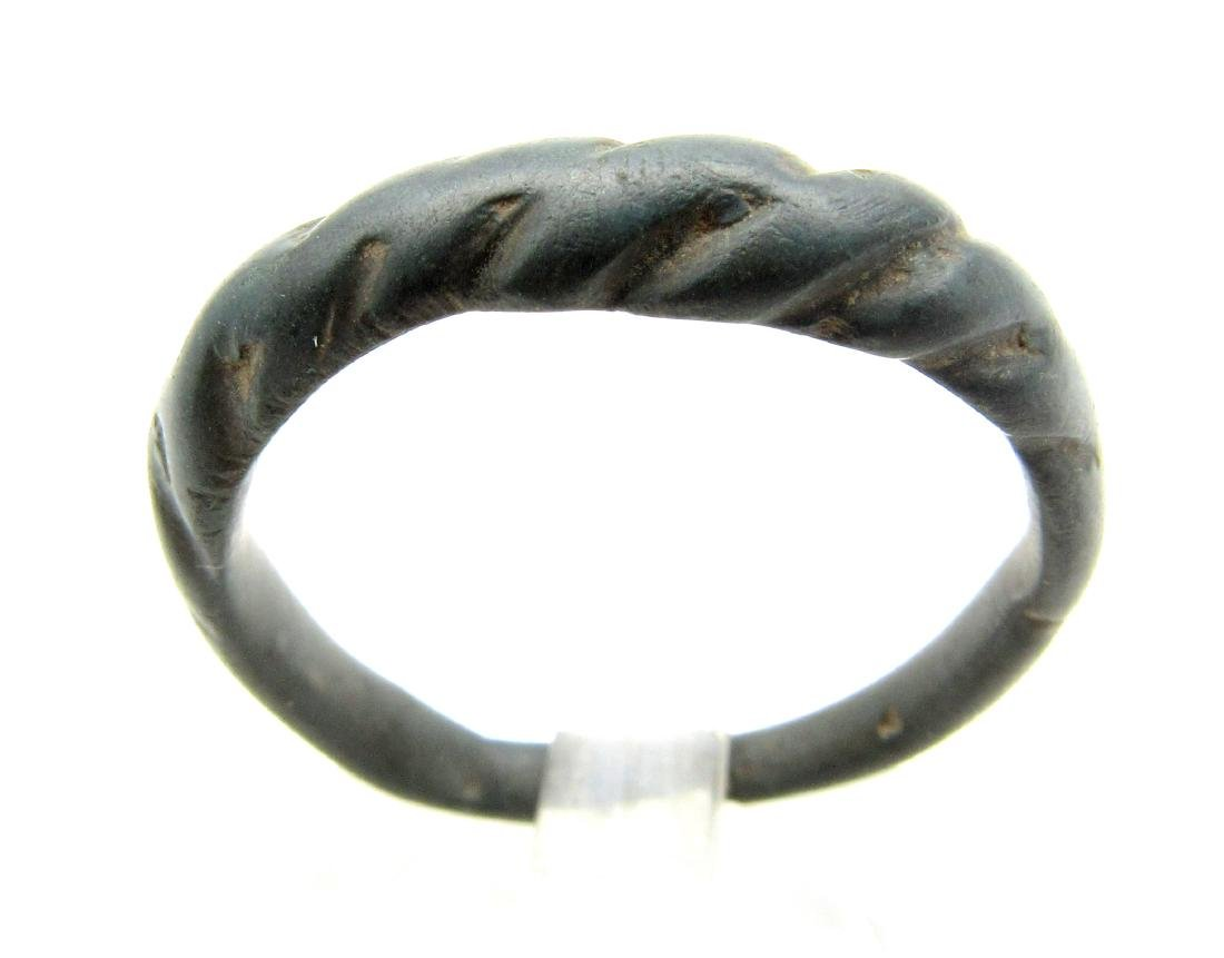 Medieval Viking Twisted Ring