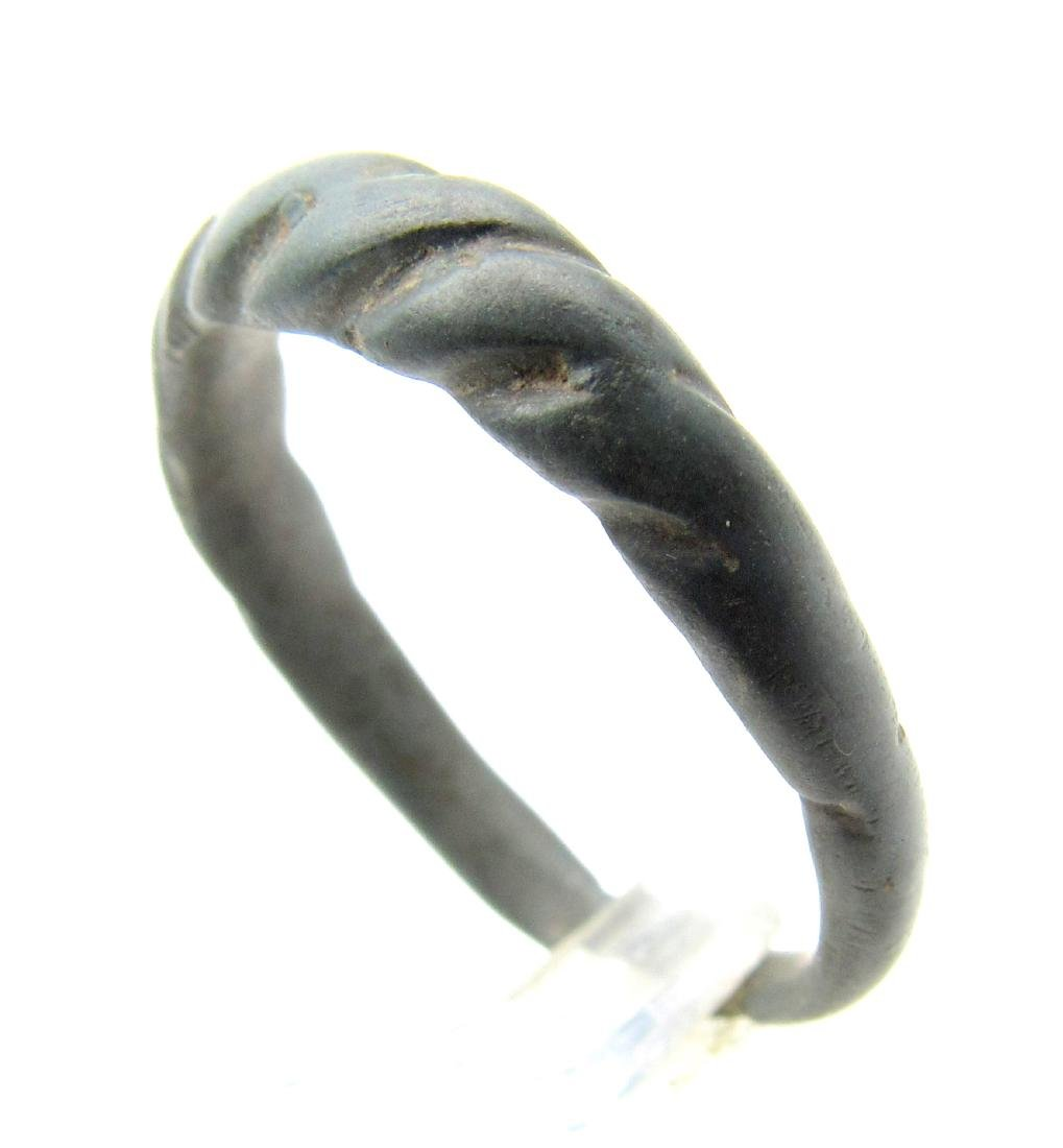 Medieval Viking Twisted Ring - 2