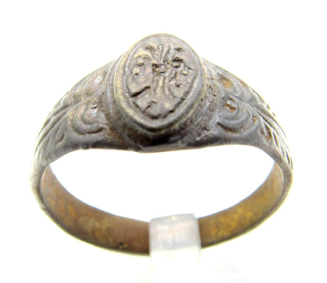 Late Medieval Tudor Floral Wedding Ring