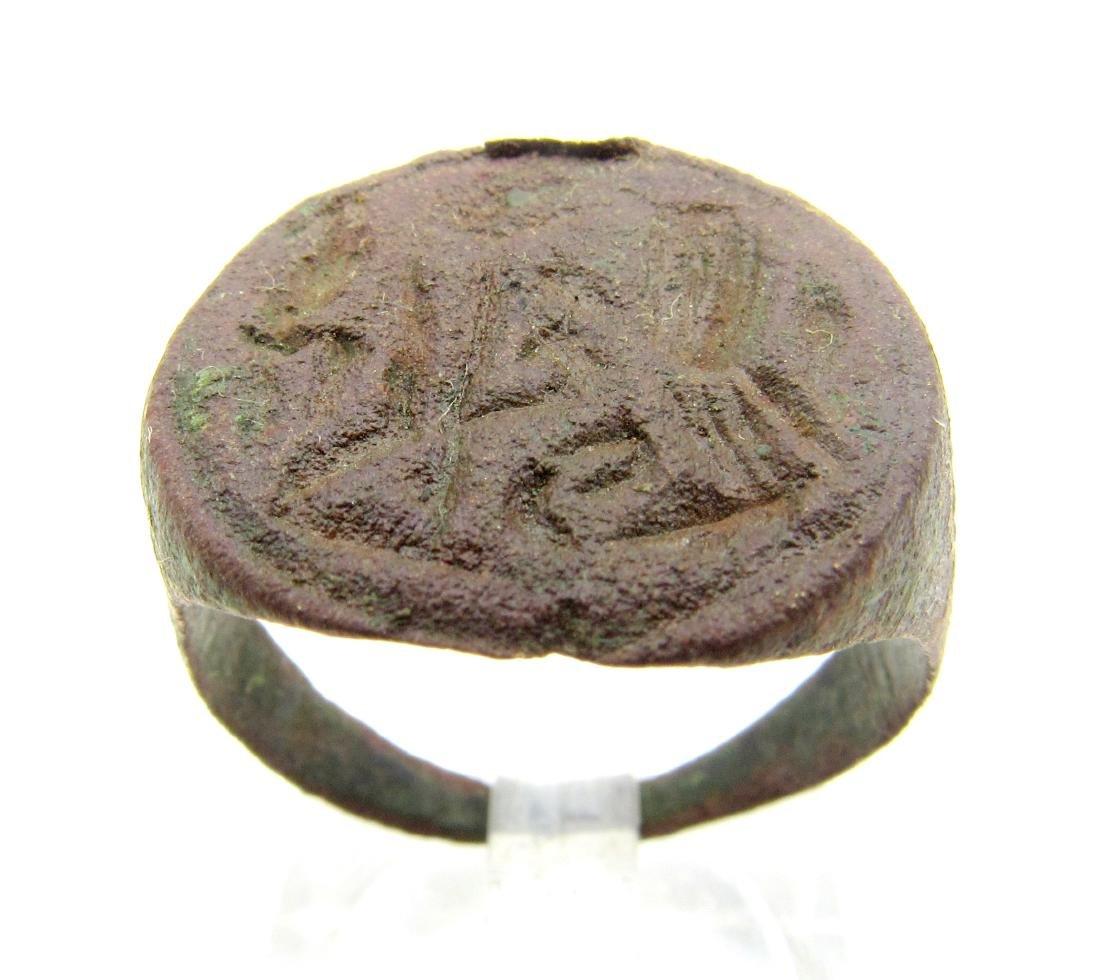 Medieval Viking Runic Ring
