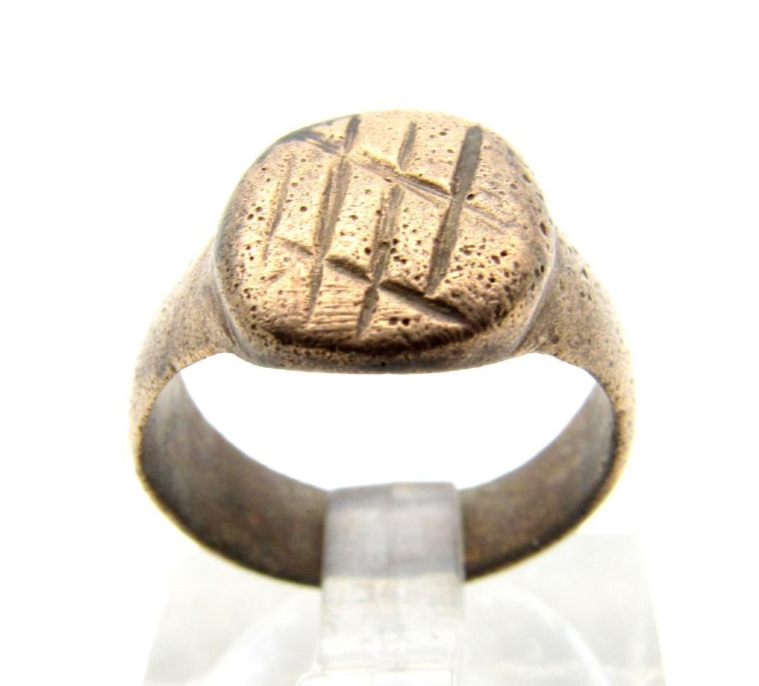 Medieval Religious Fisherman's Net Ring