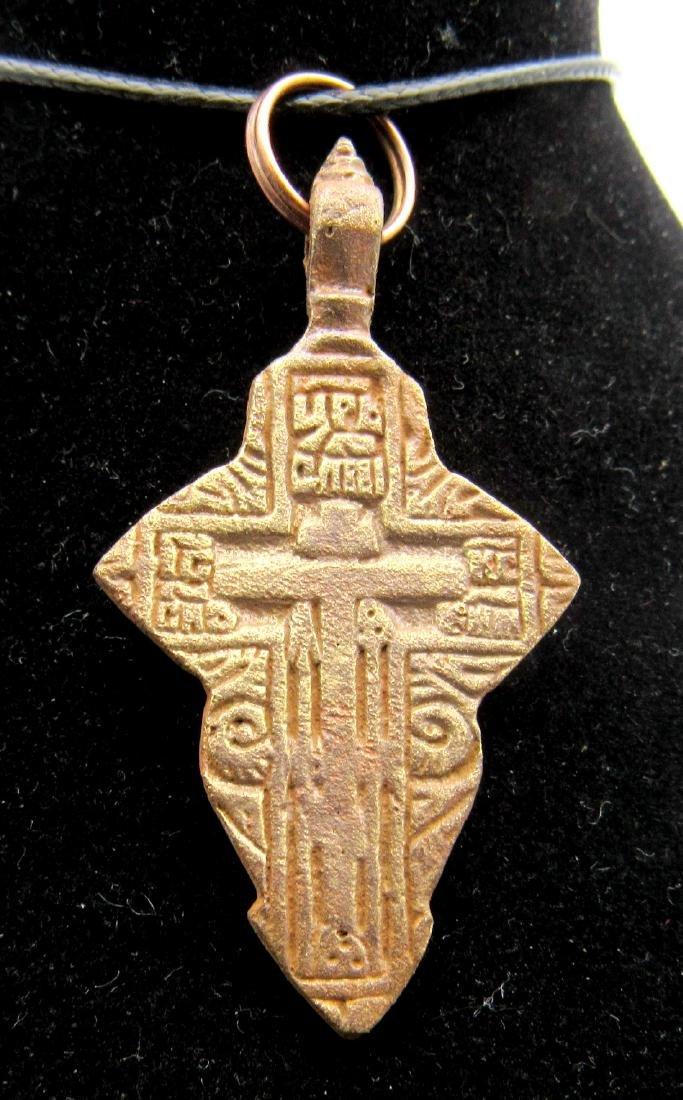 Late Medieval Cross Pendant