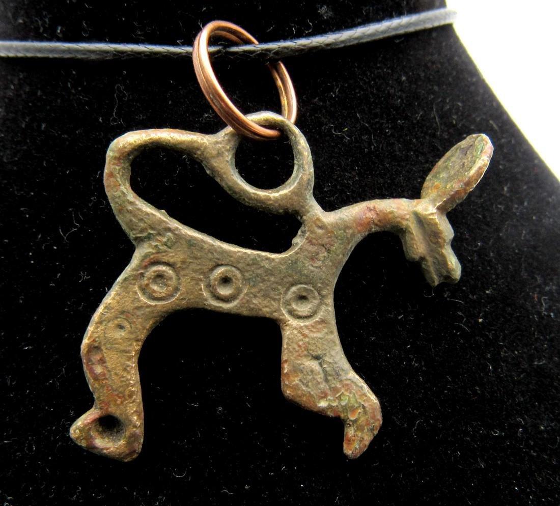 Medieval Viking Dragon Fafnir Pendant with Evil's Eye