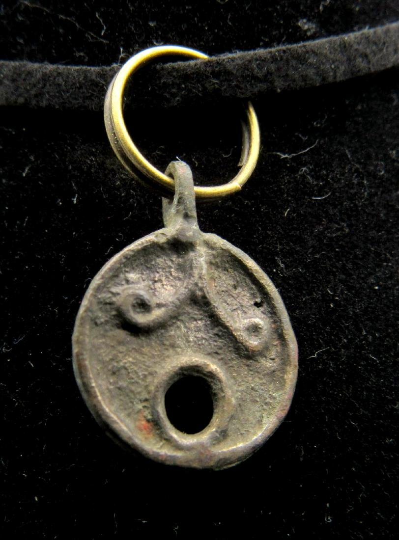 Medieval Viking Decorated Pendant