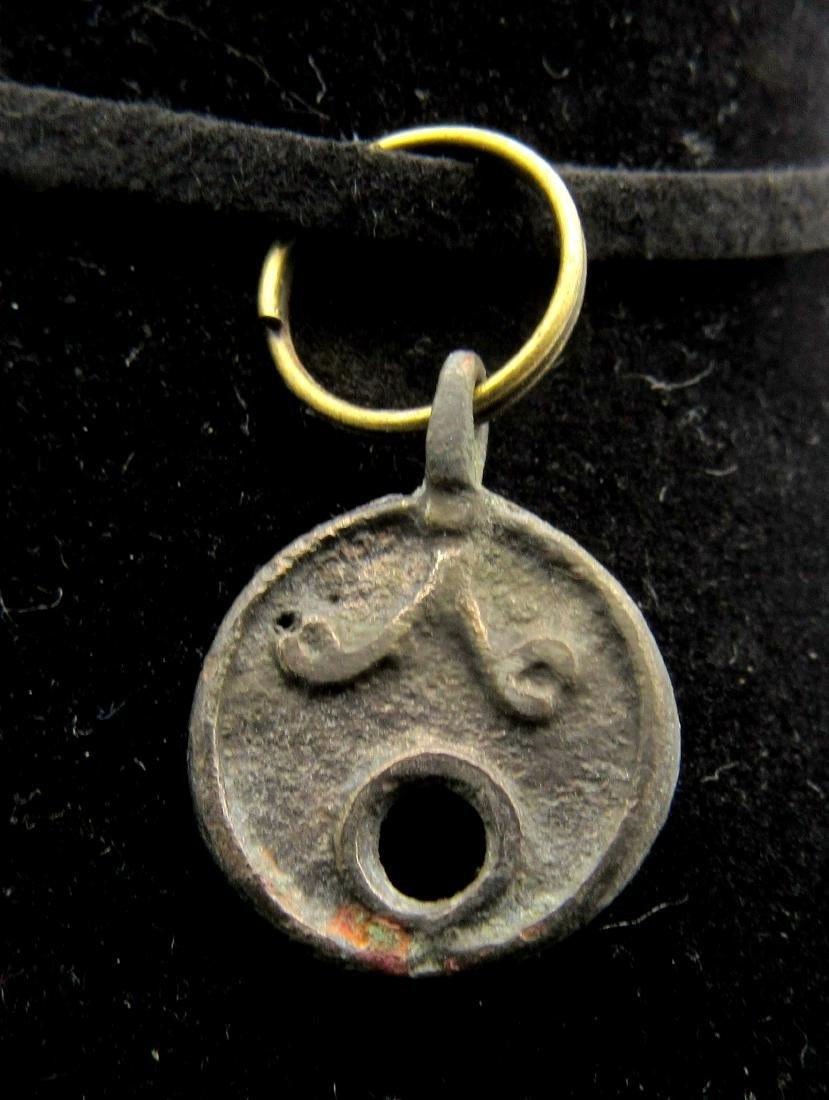 Medieval Viking Decorated Pendant - 2