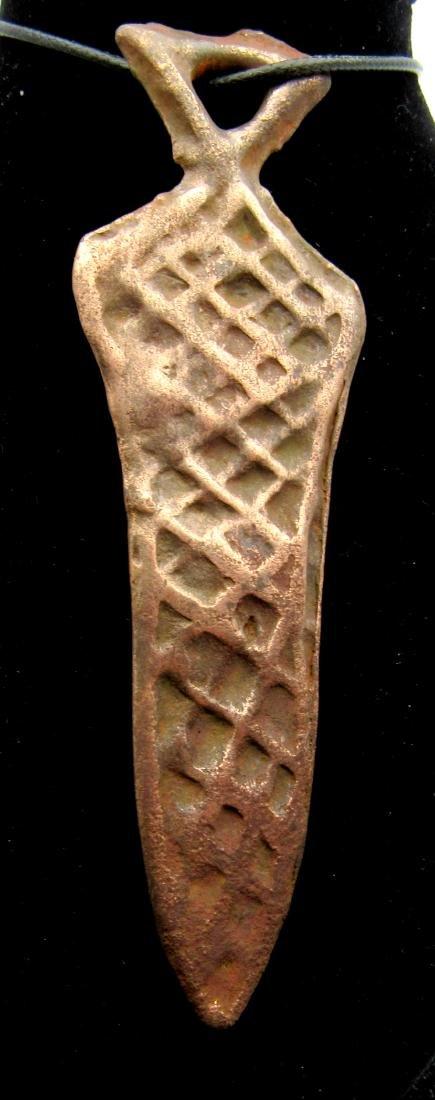 Medieval Viking Warriors Sword Pendant