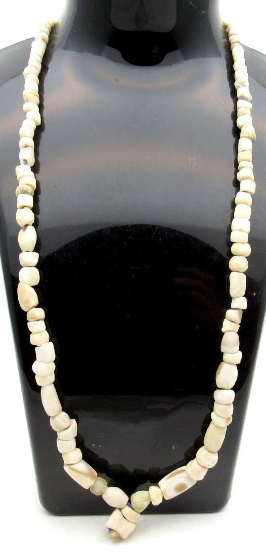 Ancient Roman Stone Beaded Necklace