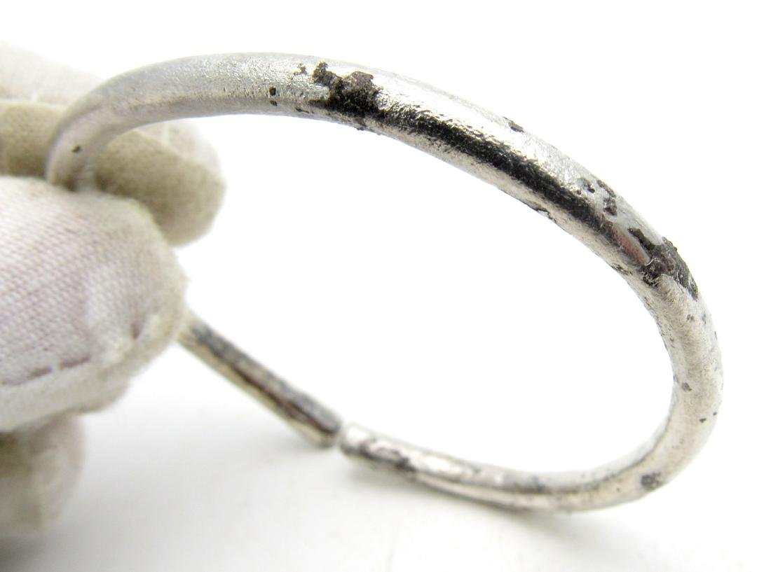 Medieval Viking Silver Bracelet