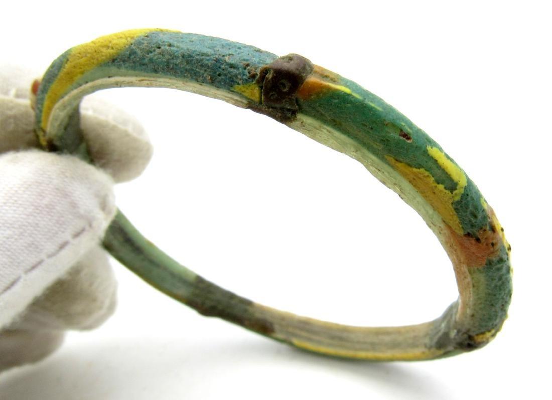 Ancient Byzantine Glass Bracelet