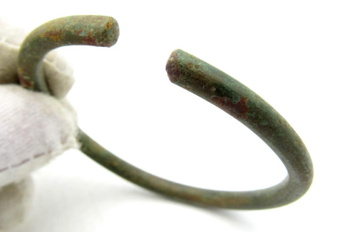 Ancient Celtic Bronze Bracelet - 2