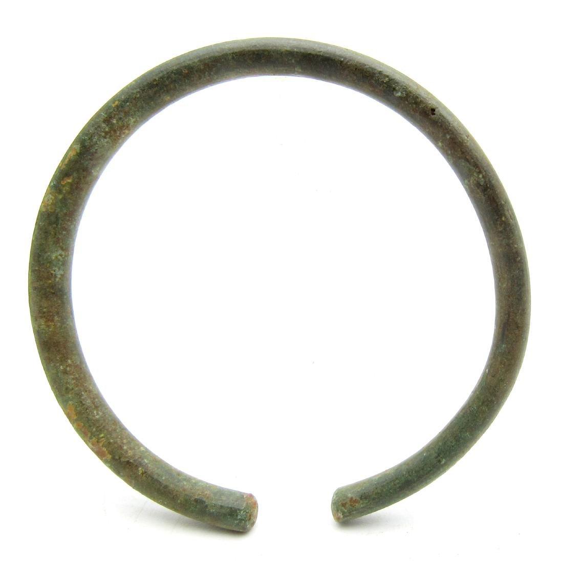 Ancient Celtic Bronze Bracelet - 3
