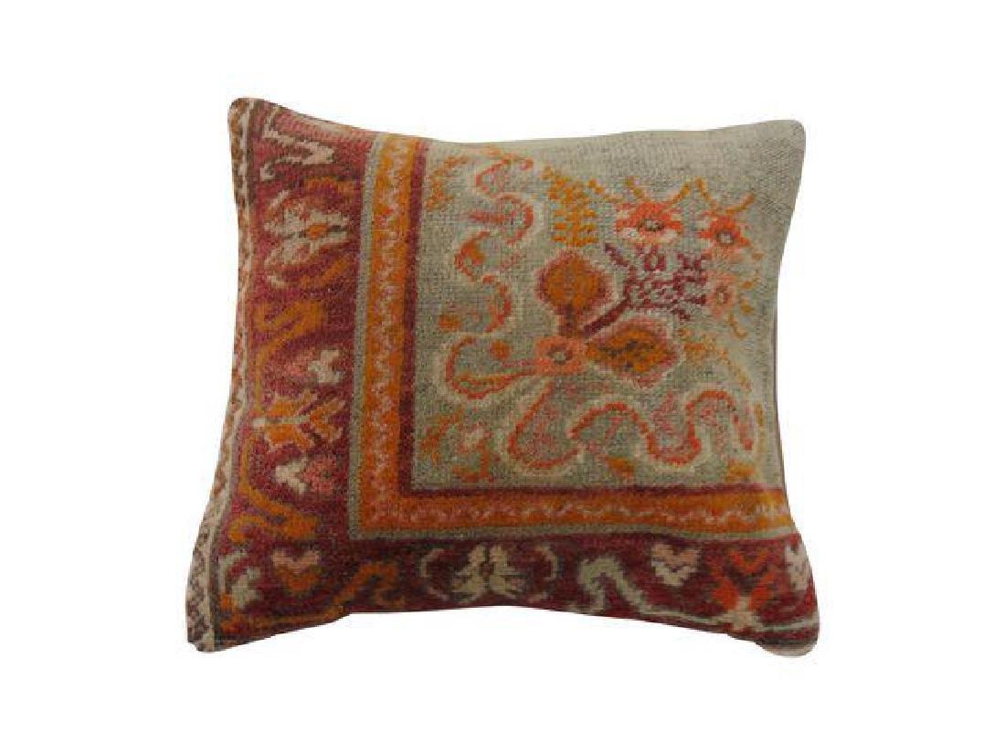 Oushak Rug Border Pillow 1.5x1.5