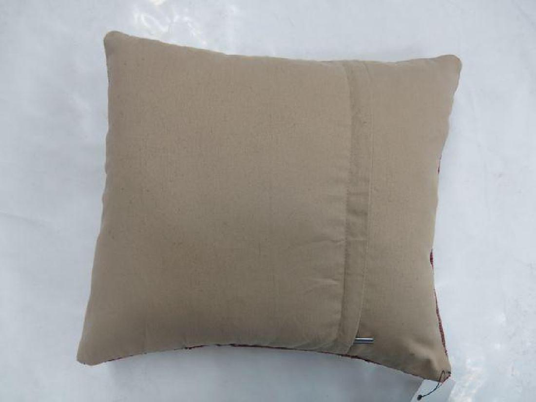 Green Turkish Rug Pillow 1.8x1.5 - 3