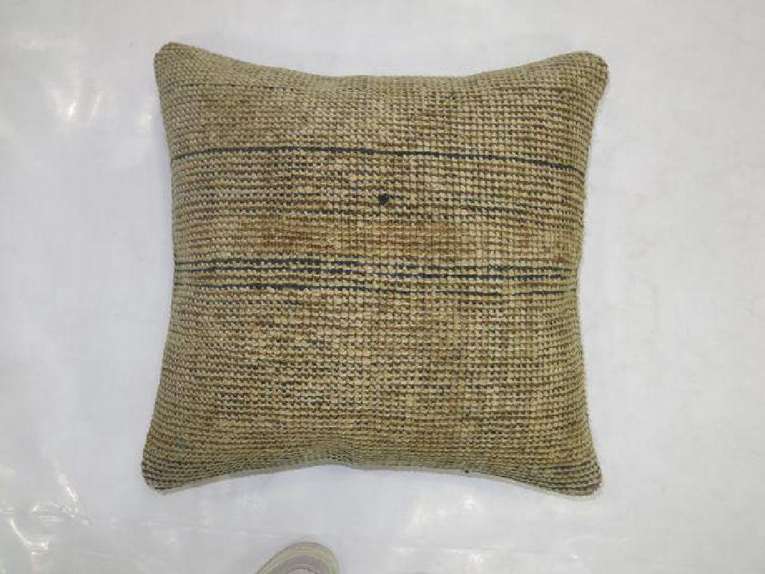 Vintage Moroccan Rug Pillow 1.7x1.8 - 2