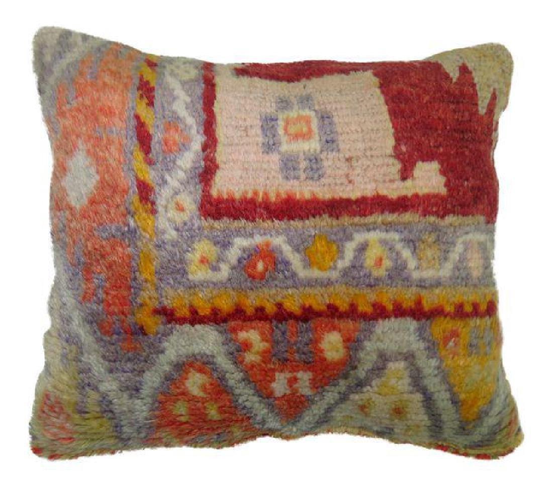 Oushak Rug Pillow 1.5x1.3