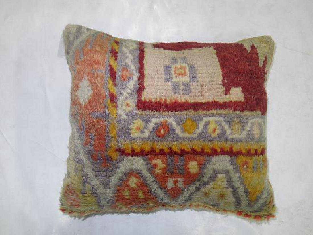 Oushak Rug Pillow 1.5x1.3 - 2