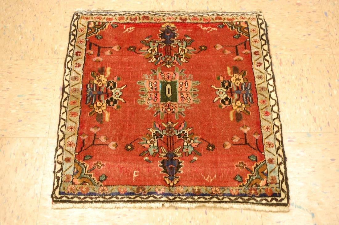 Detailed High Kpsi Persian Bijar Rug 2.3x2.5