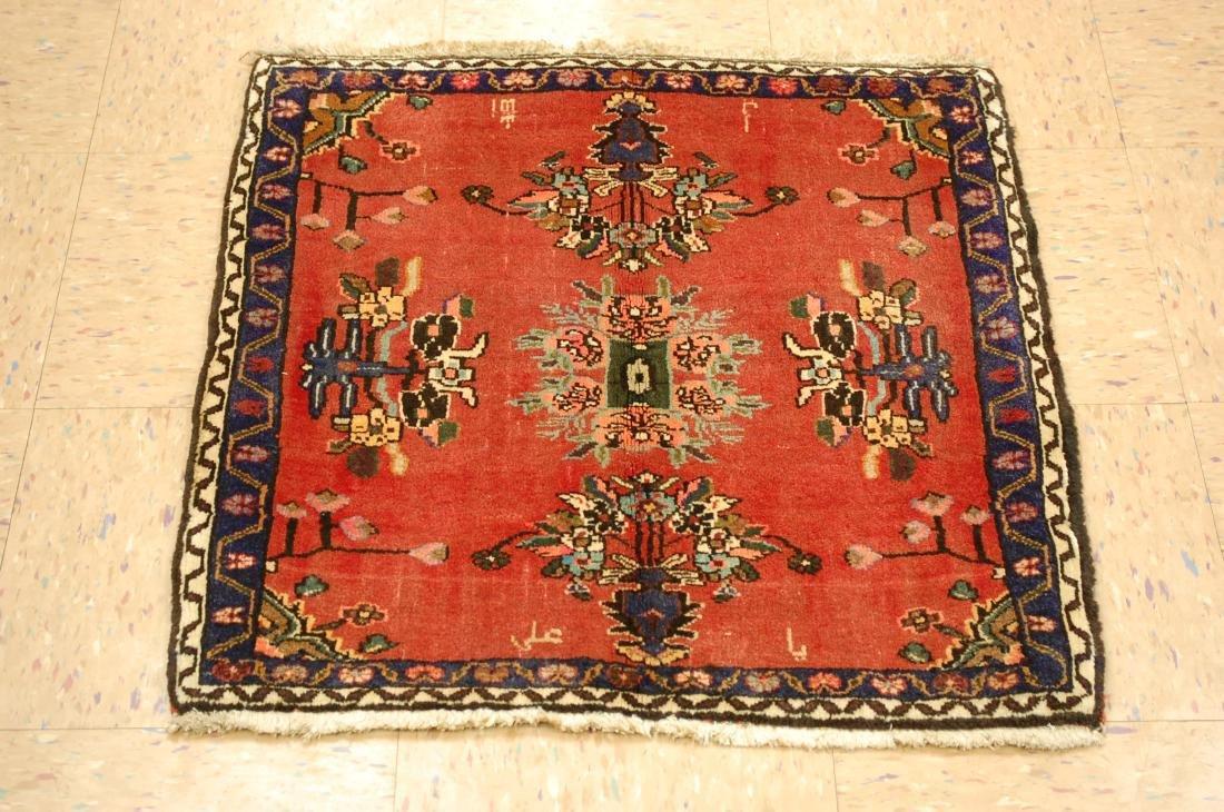 Detailed High Kpsi Persian Bijar Rug 2.3x2.4